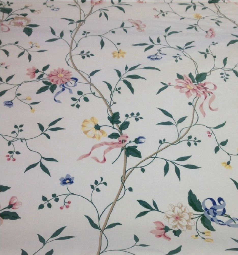 Waverly Spring Meadow Open House Floral Chintz Fabric ~ 2-5/8 Yards ...