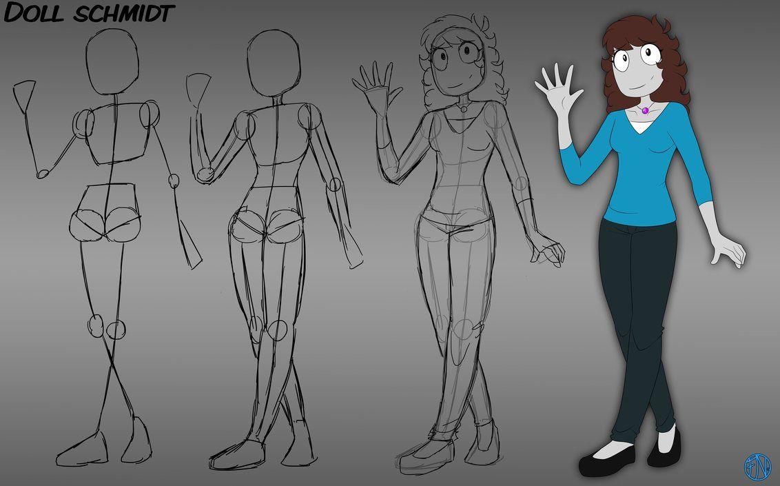 Anatomy Practice - Doll Schmidt by FNAFNations | Anatomy ...