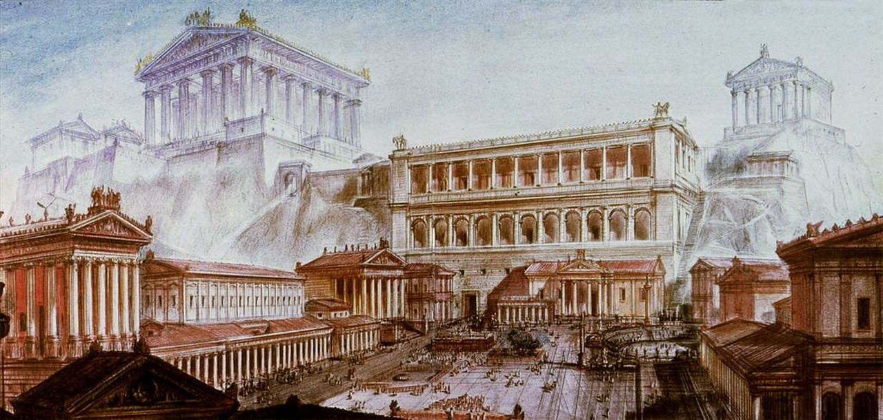 Forum Romanum Reconstruction | www.pixshark.com - Images ...