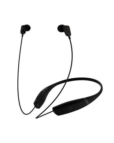 Blackweb Bluetooth In Ear Collar Headphones Black Headphones Ear Bluetooth