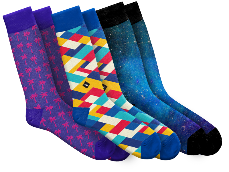 a6edf75a0544 Custom Socks - Dye Sublimated