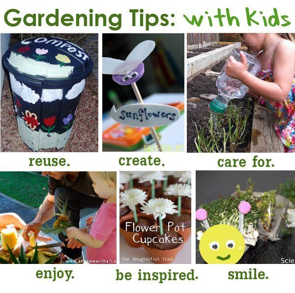 how to garden with kids  organic gardening tips