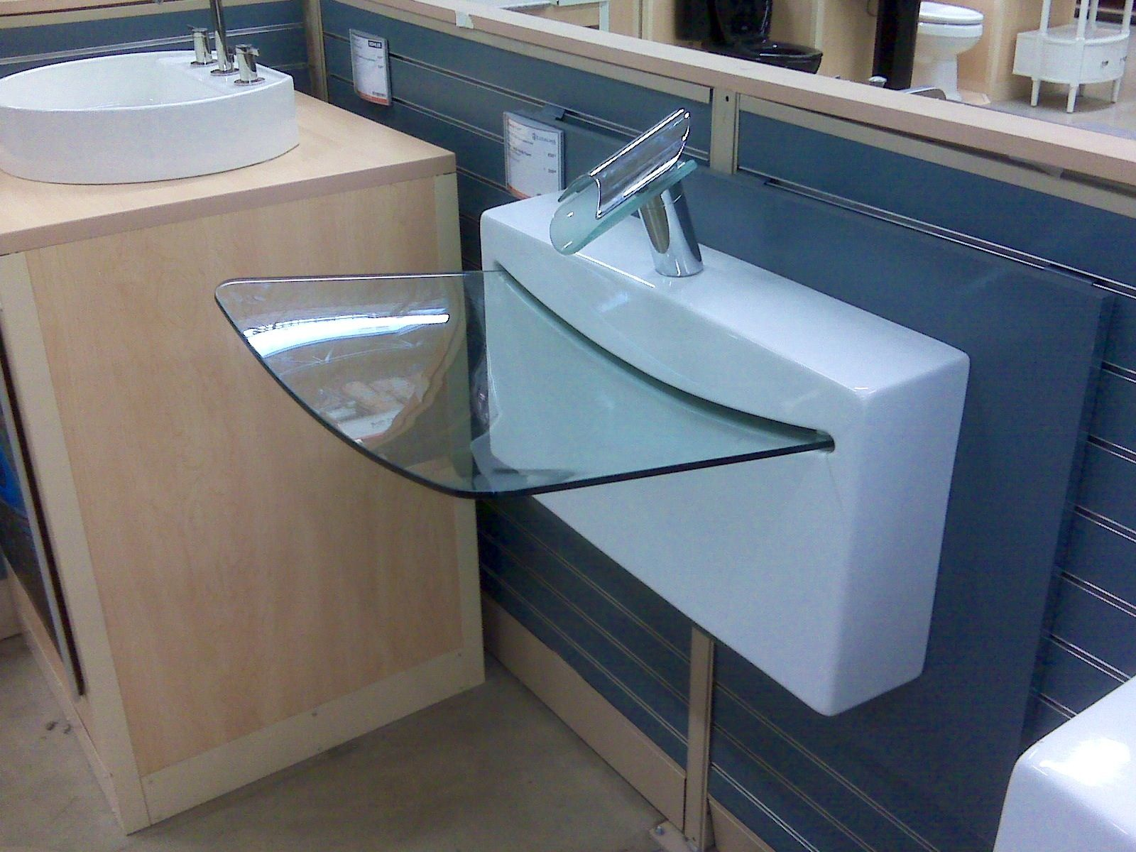 Cool bathroom sink For the Home Pinterest