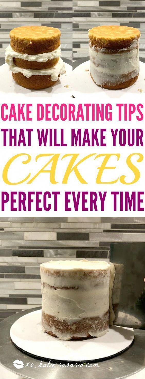 How to Fill, Stack & Crumb Coat a Layered Cake #cakedecorating