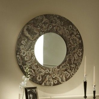 Specchio con cornice barocca africa di cantori finitura p1 pollock espejos pinterest cornice - Specchio cornice nera barocca ...
