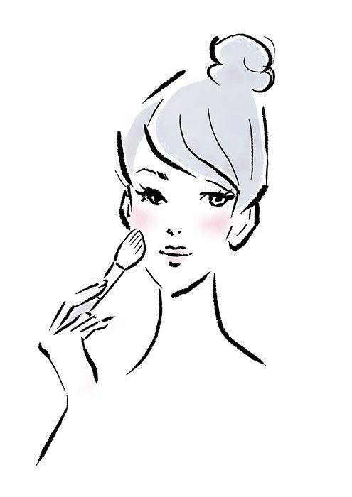 Illustrator Reismi イラストレーター リズム 女性 女の子 美容