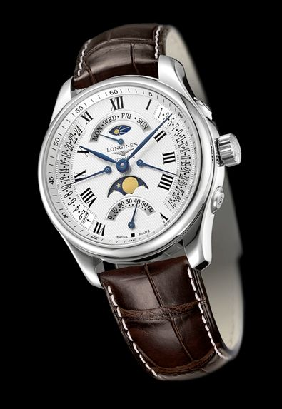 Longines chronograph/moonphase watch. One of the most affordable watches you can buy with this many complications. .