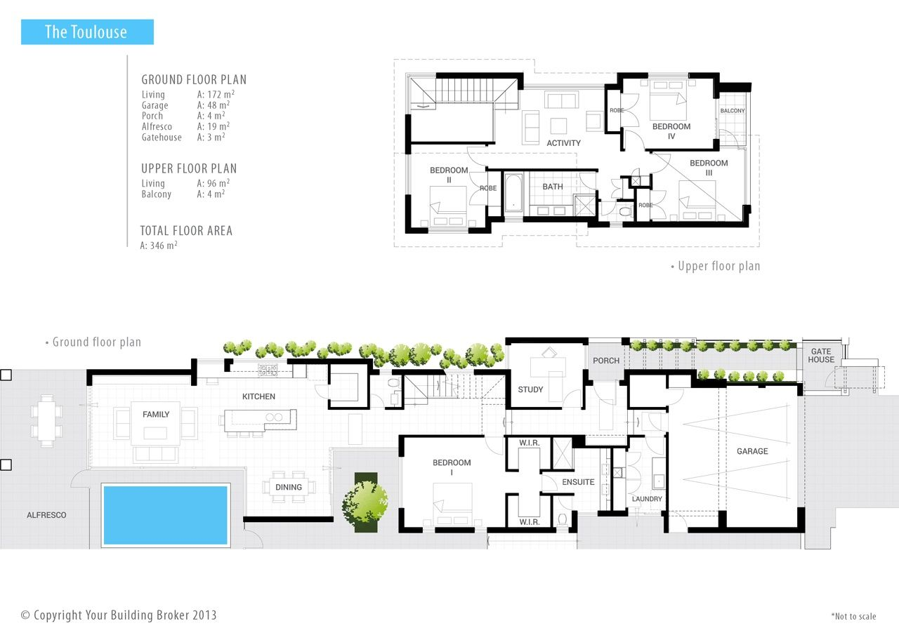 The Toulouse Narrow Lot Home Design By Your Building Broker Perth House Plans Australia Narrow Lot House Plans Architectural Floor Plans