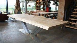 Fusion Design Keuken : Tafels van zwaartafelen stoere tafels op maat keukens