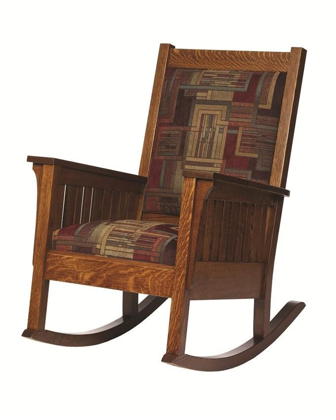 Amish Relax Mission Style Rocker Mission Style Furniture Amish