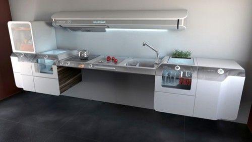 future, futuristic, future kitchen, future design, helder filipov