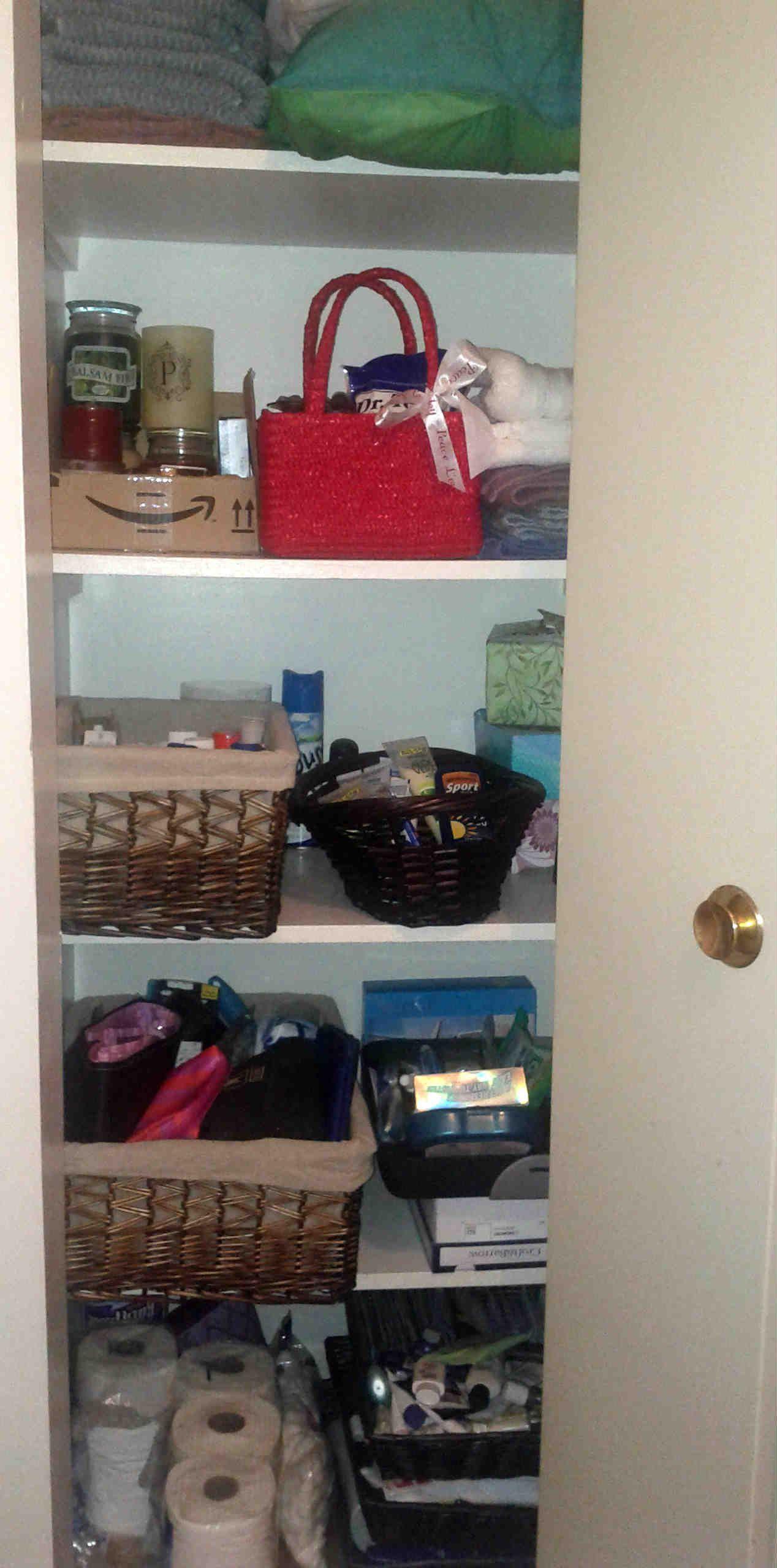 Junior hallway ideas  hall closet organized  Favorite Places and Spaces  Pinterest