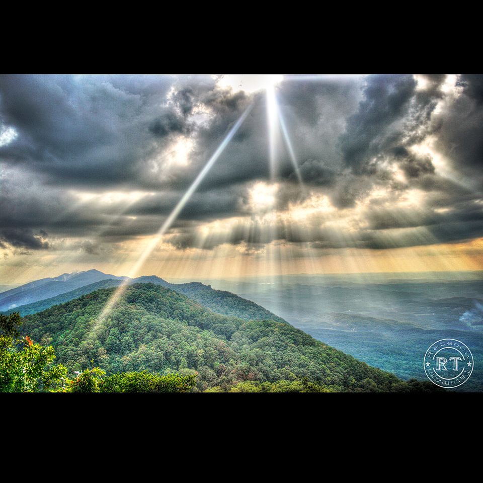 Smoky Mountains, East Tennessee, Foothills Parkway, Landscape, Maryville, Photography, Portrait, Sunflare, Mountains