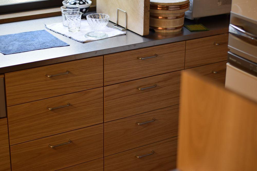 2階のキッチンリフォーム コの字型の使いやすいキッチンの提案