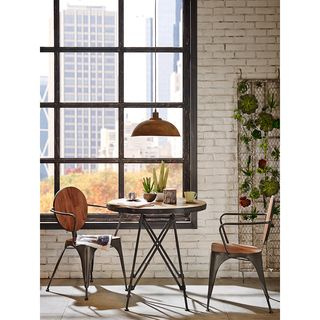 INK+IVY Cooper Natural/Graphite Bistro Table | Overstock.com Shopping - The Best…