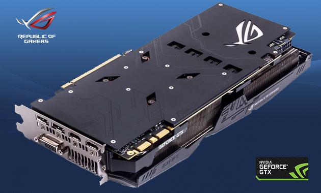 The Backplate Of Asus Rog Poseidon Gtx 1080 Ti Platinum