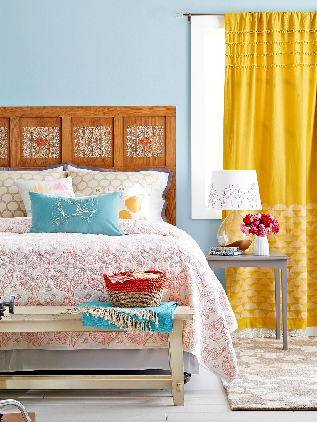 Colorful DIY Bedroom Projects DIY Ideas for Your Home