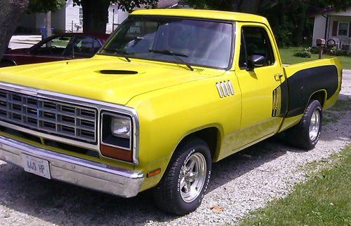 1984 Dodge Ram D100 By Jerry Mcqueen Update Old Dodge Trucks Dodge Pickup Trucks Dodge