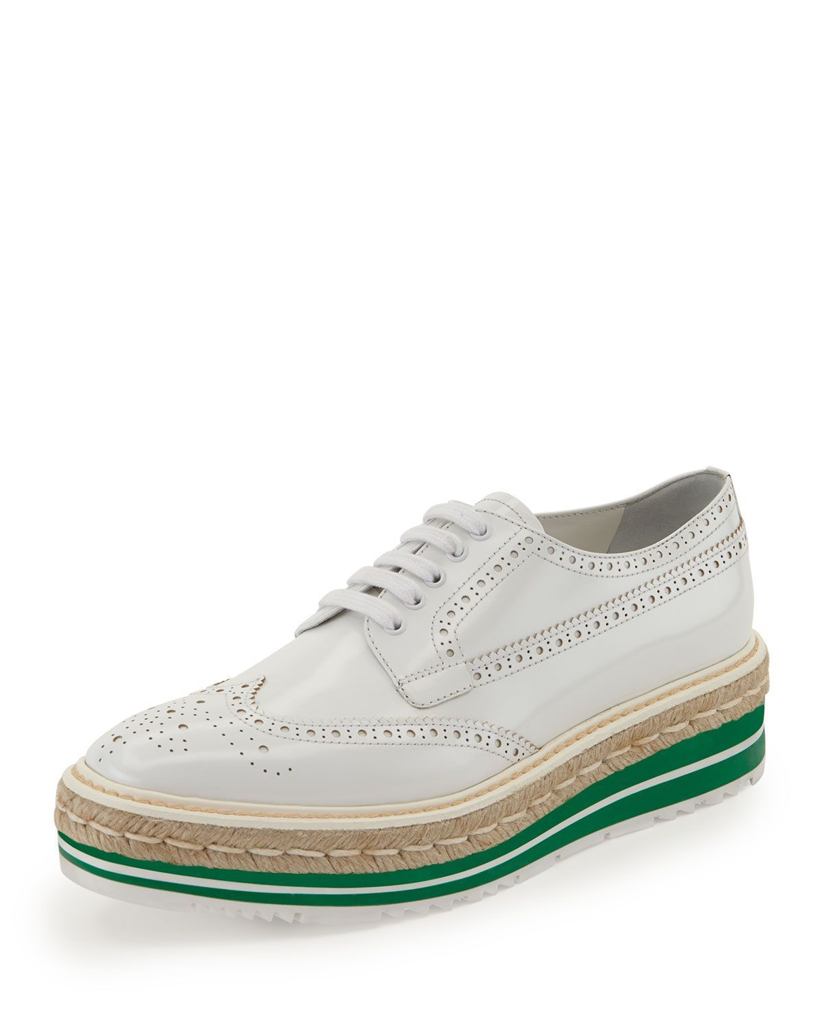 store sale sale tumblr Prada Platform Brogue Oxfords sale from china buy cheap fast delivery 100% authentic for sale cXAPTmk