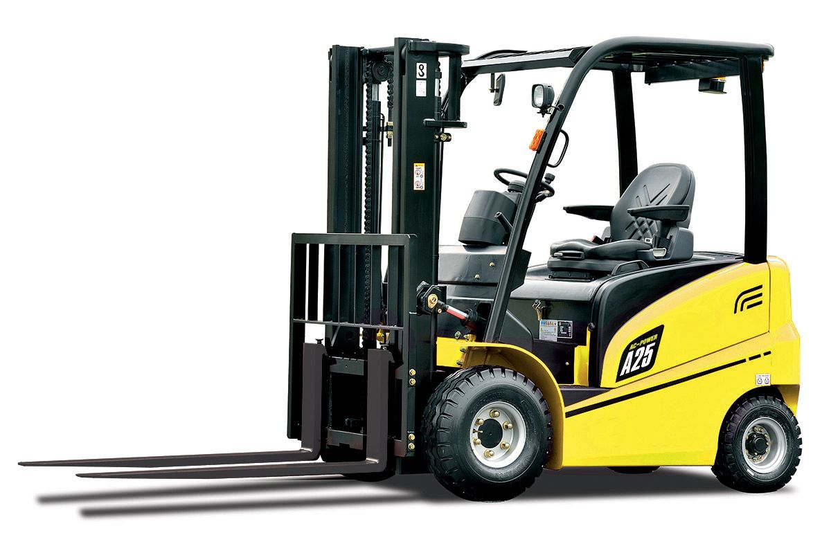 New A Series 13.5T Counterbalance Electric Forklift (With