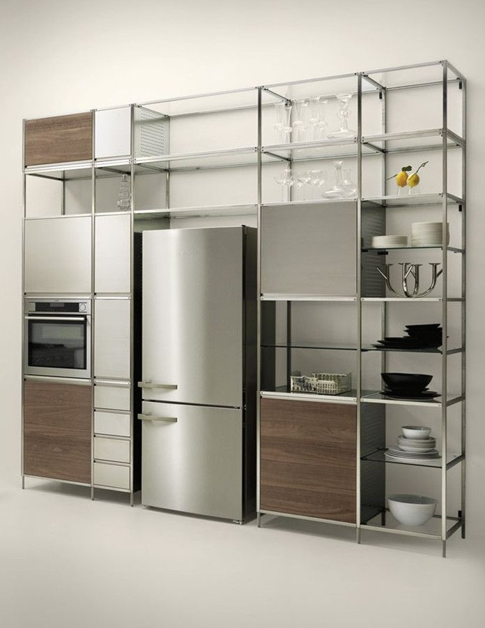 Meccanica By Valcucine: Modular Kitchen With A Lightweight Frame Gallery