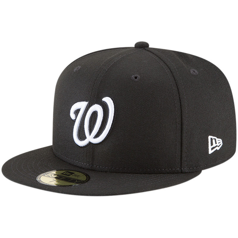sports shoes 1114a dcd02 Washington Nationals New Era Basic 59FIFTY Fitted Hat – Black