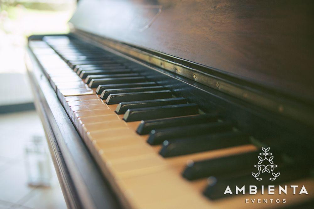 Piano do salão principal