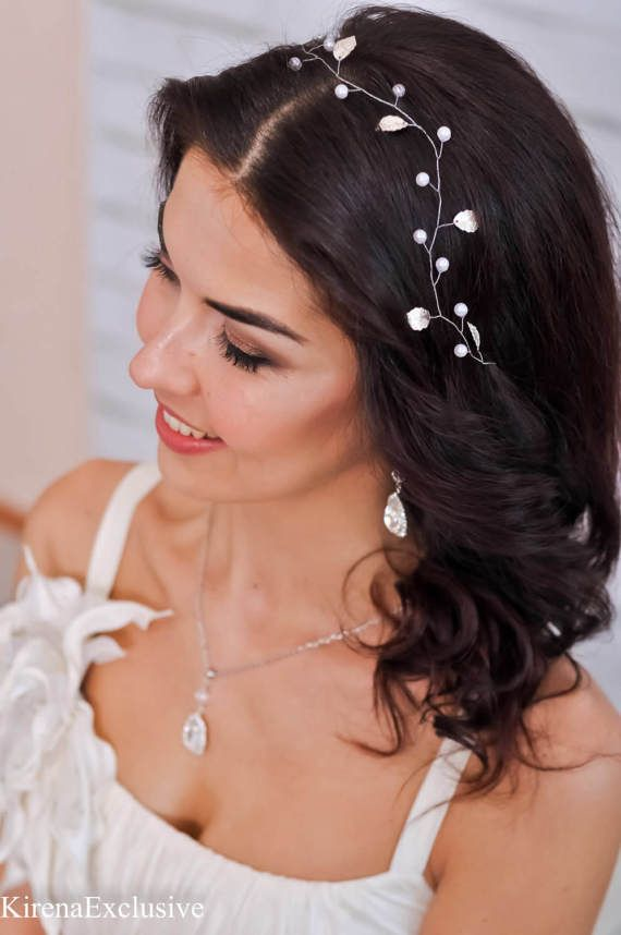 Wedding Hair Piece Wedding headband Wedding tiara Wedding hair accessories Bridal hair accessories wedding head piece Bridal hair pin
