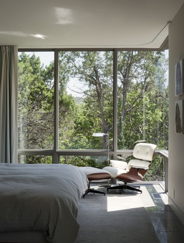 Scout Island Modern Bedroom Austin Alterstudio Window Coverings Draperies Curtains