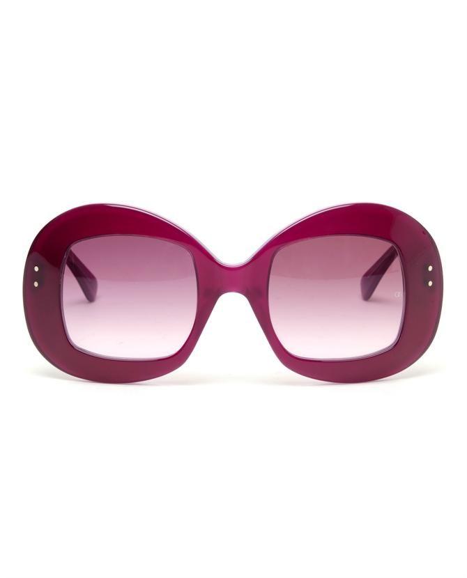 137e5ec0d6  Uuksuu  Rounded Sunglasses by OLIVER GOLDSMITH Sunglasses Online