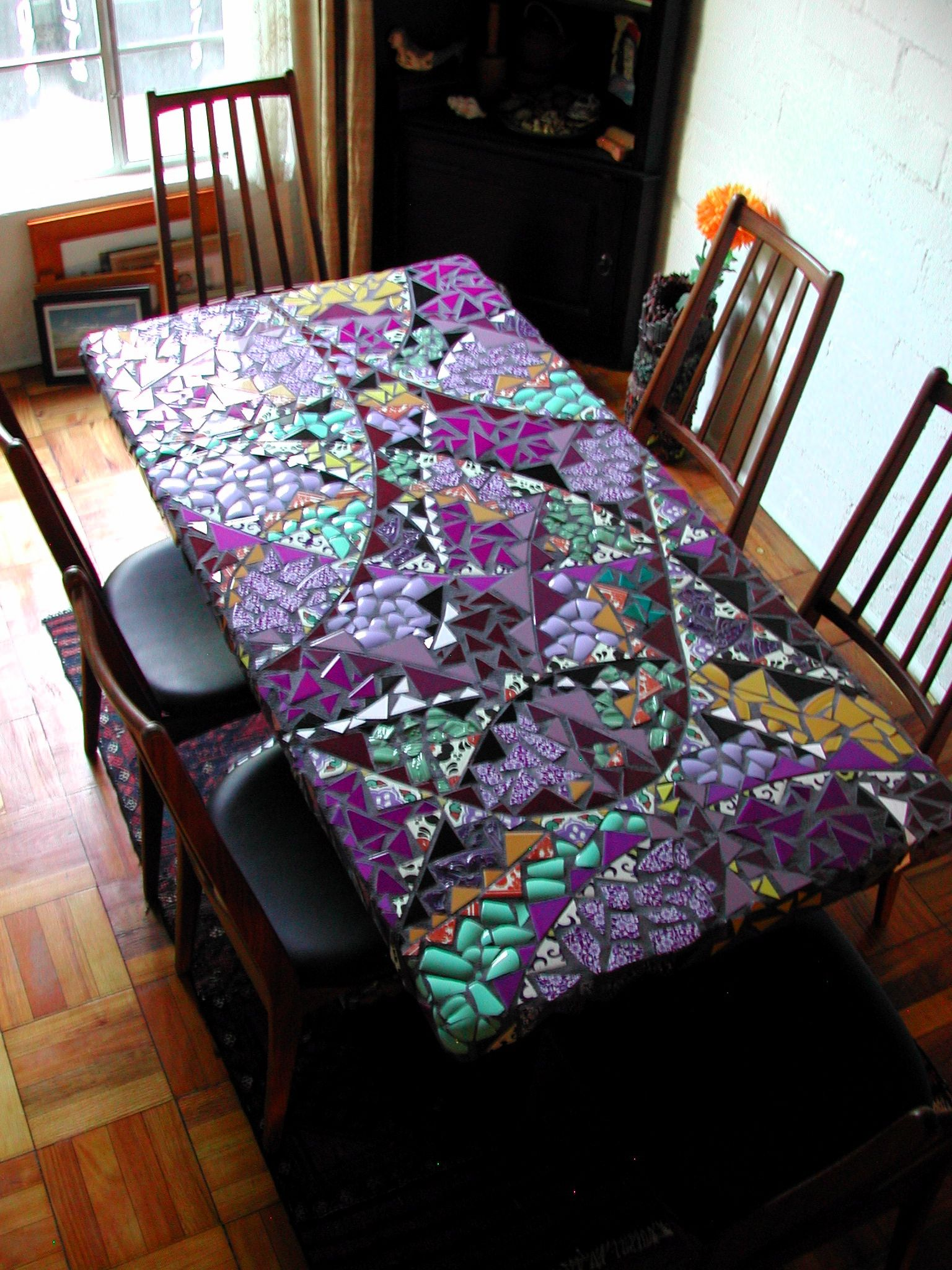 Mosaic Dinning Table Dinning Table Dining Table Design Mosaic