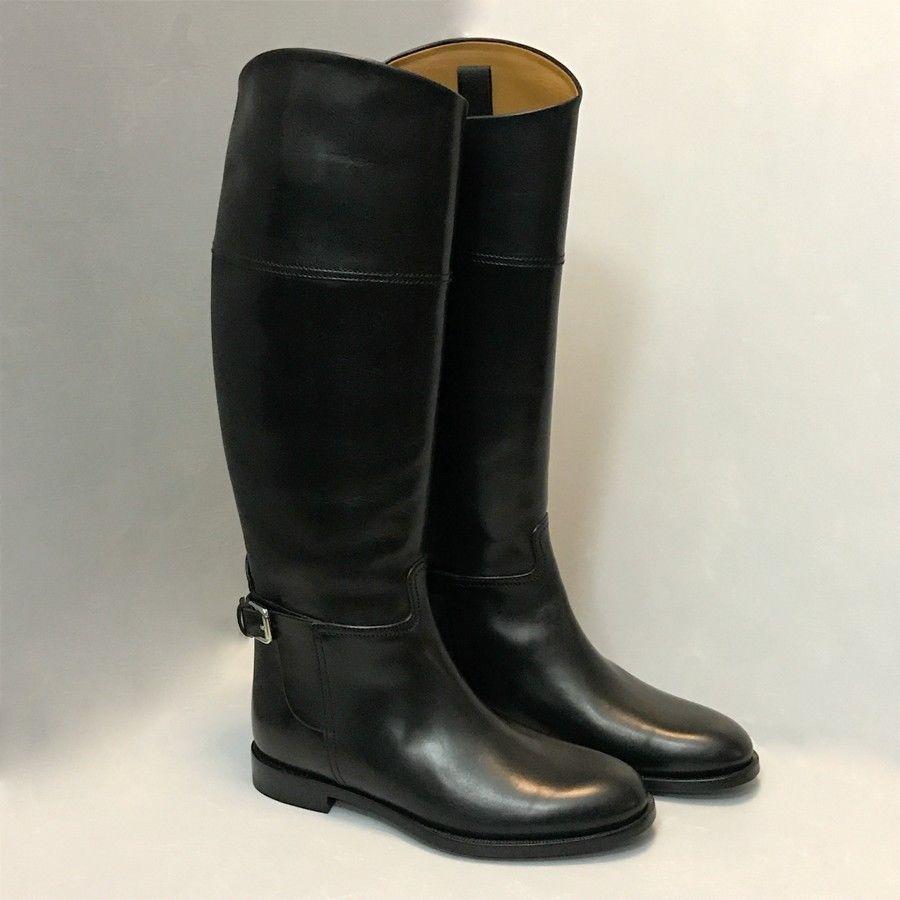 Ralph Lauren Collection Riding Boots - Sandra Flat