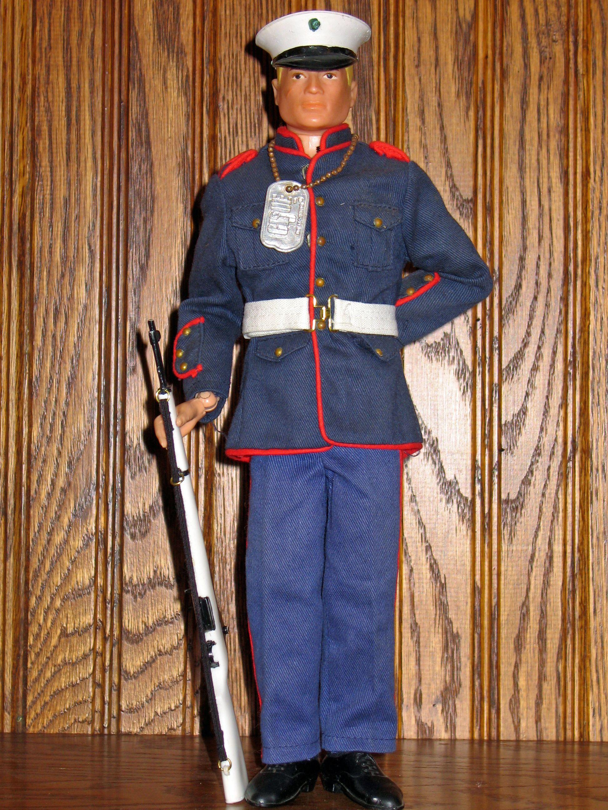Vintage Gi Joe Action Marine Dress Blues Set 7710 Gi Joe I M A Barbie Girl Classic Toys