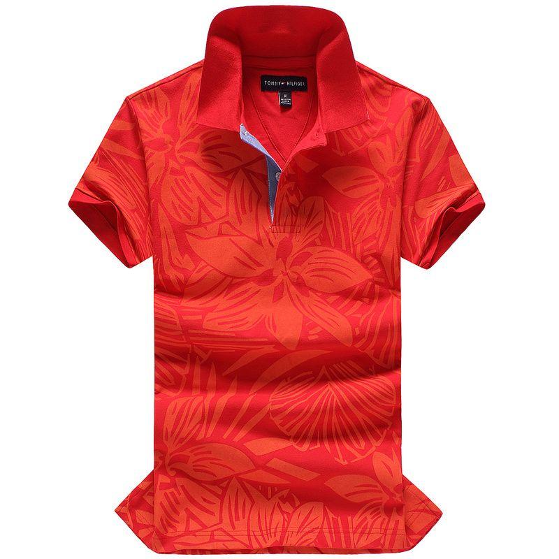 fa9fe54e Tommy Hilfiger Polo Shirts Men Short | Fashion | Camisetas polo ...