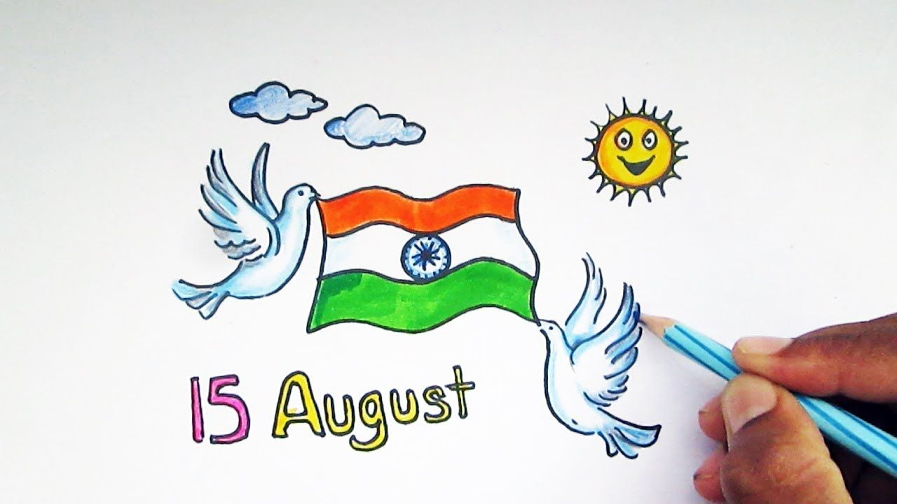 Independence day drawing pictures images all kids and schools
