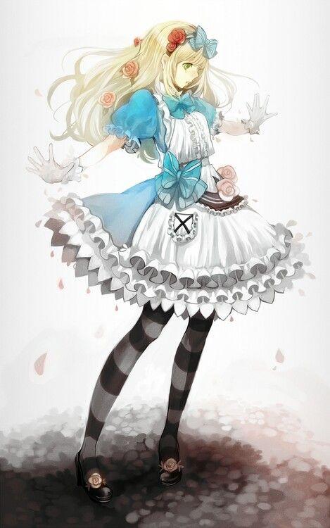 와아 이상한 나라의 앨리스다-!