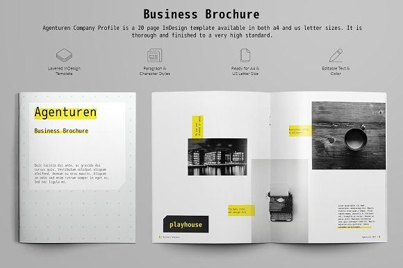 Business Brochure by TH Pixel on @Graphicsauthor Templates - client information sheet template