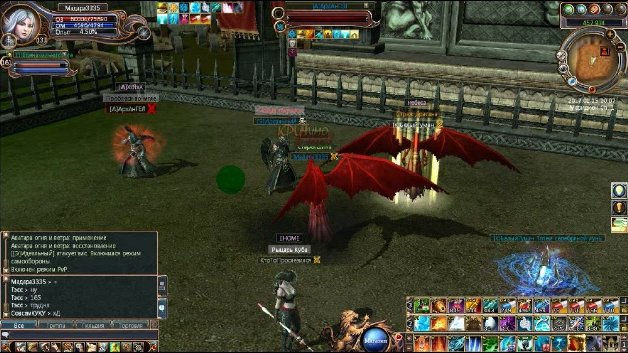Last Chaos Last Chaos is an action adventure, MMORPG video