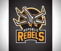 Star Wars Sports Team Logos - Republic Rebels