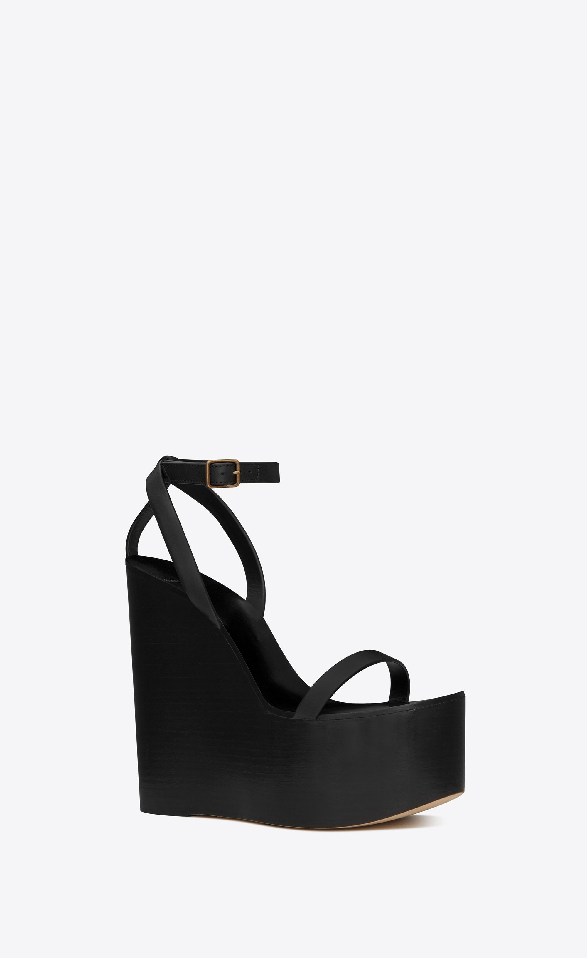 2f1694a6e0f Frida wedge sandal in leather in 2019 | SANDALS | Wedge sandals ...