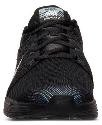 hot sale online 68c16 a1980 Nike Men s LunarGlide 7 Flash Running Sneakers from Finish Line - Black 11