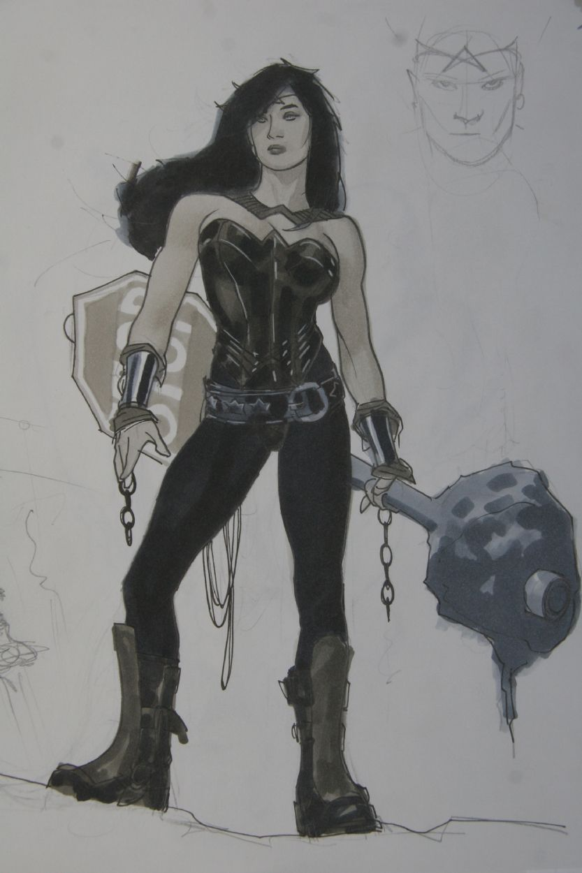 Adam Hughes Wonder Woman New Costume Design Comic Art Wonder Woman Adam Hughes Women