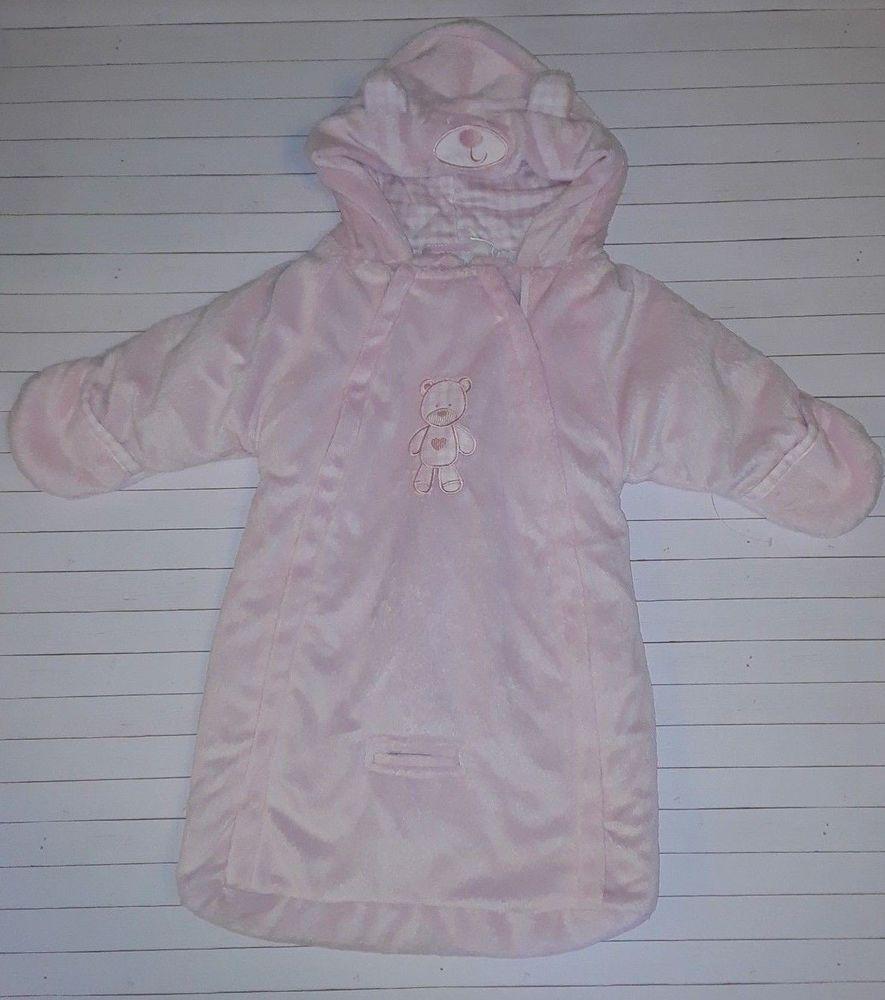b94574fd3 NWOT Little by Little Infant Baby Girls 0-3 Months Pink Pram Bag ...