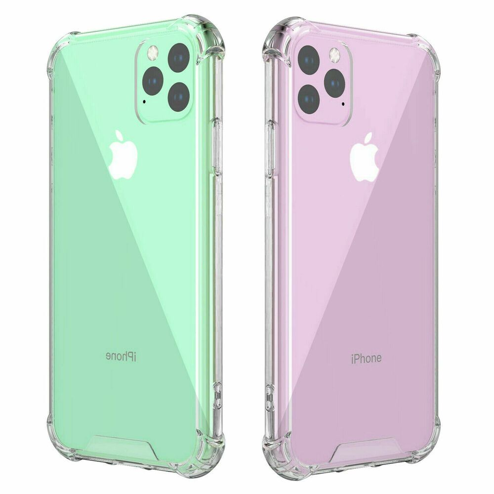 For iphone 11 pro max clear case shockproof protective