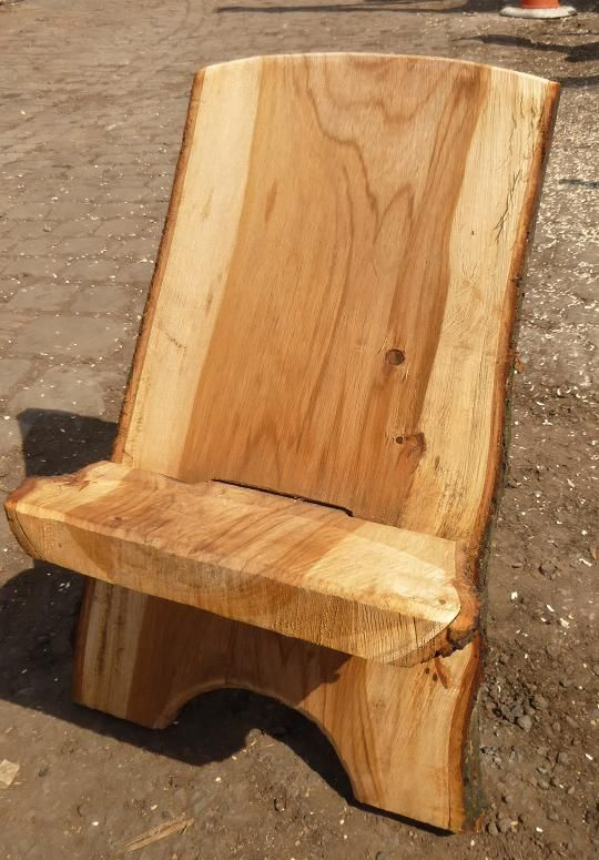 Rustic Wooden Viking Chairs