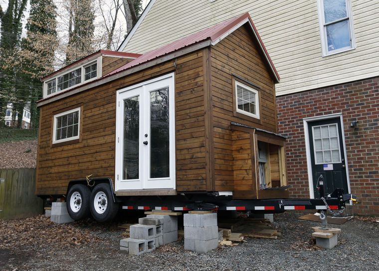 Richmond Area Tiny House To Be Appear On Hgtv S Tiny House Big Living Tiny House House On Wheels Tiny House On Wheels