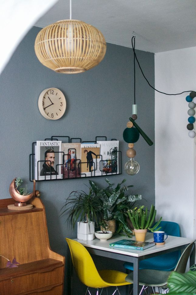 urban jungle bloggers: plants + light - Danish Design Wohnzimmer