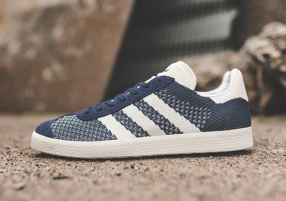 49eff7d6a895  sneakers  news adidas Gazelle Primeknit Releases With Oversized Stripes