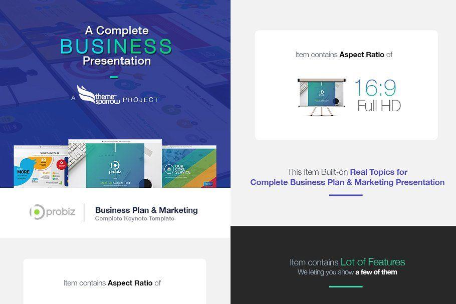 Business Plan & Marketing KeyNote in 2020 Marketing
