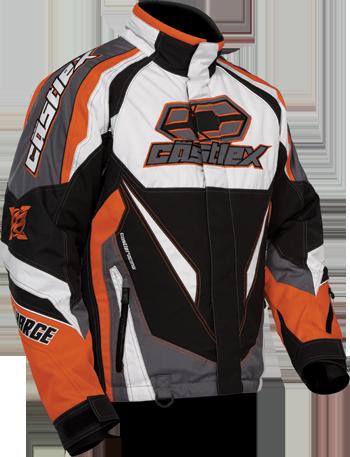 castle x charge white jacket 2015 orange httpwww